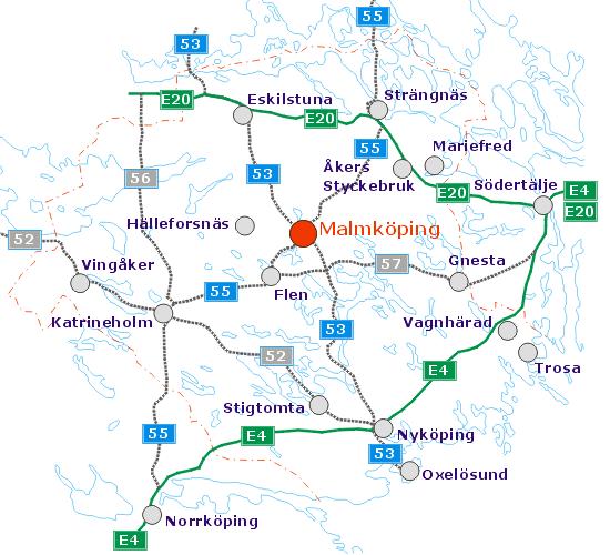 Sörmland med Malmköping